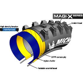 "Michelin Wild Mud Tyre 27.5"", folding, black"